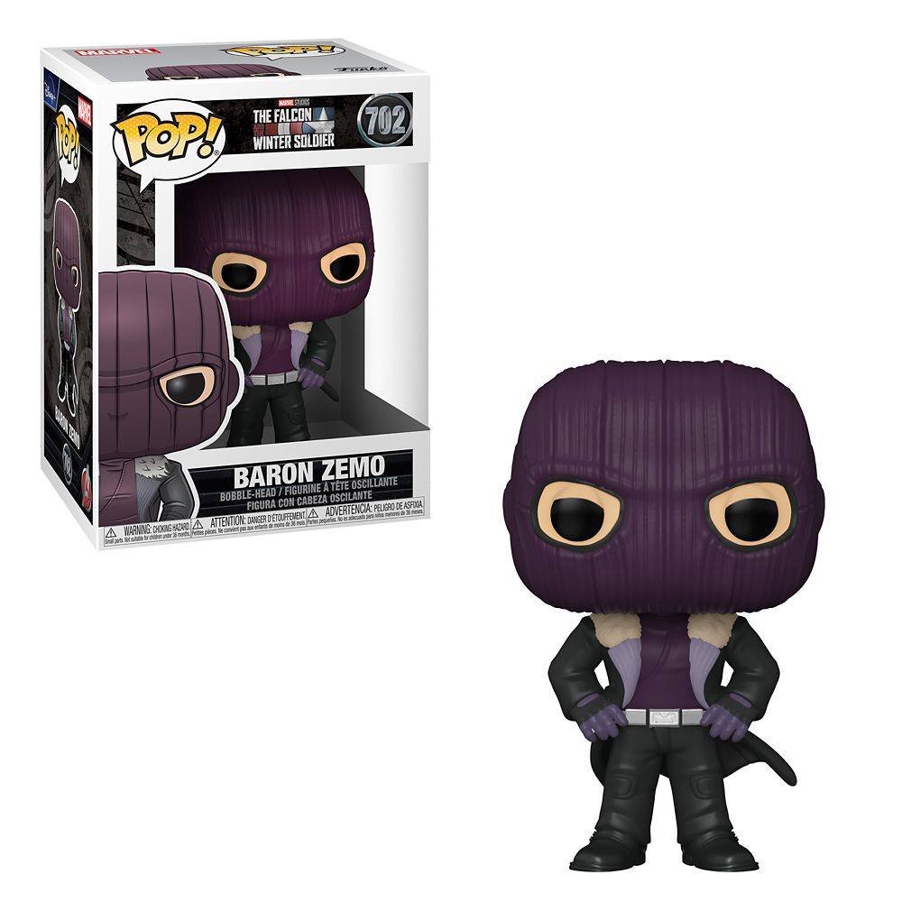 Baron Zemo Funko Pop! Vinyl Bobble-Head – The Falcon and the Winter Soldier