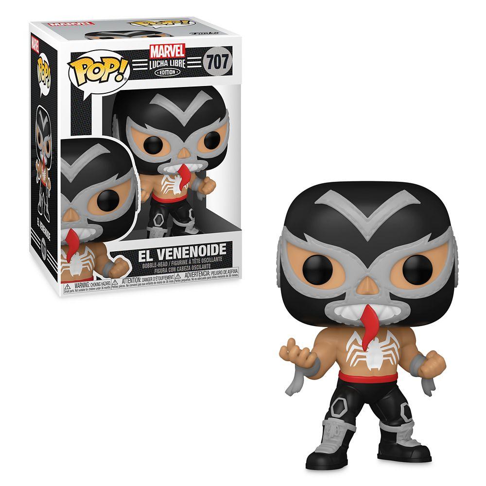 Venom El Venenoide Funko Pop! Vinyl Bobble-Head – Marvel Lucha Libre Edition