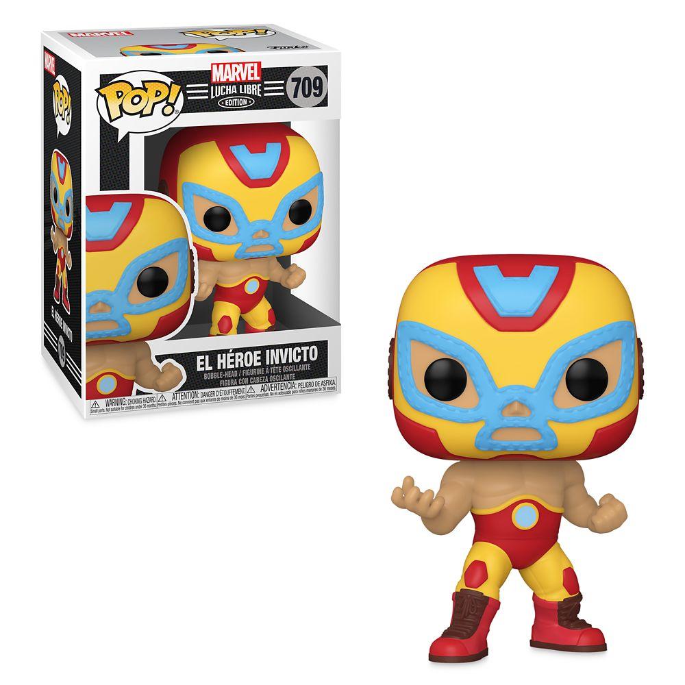 Iron Man El Héroe Invicto Funko Pop! Vinyl Bobble-Head – Marvel Lucha Libre Edition