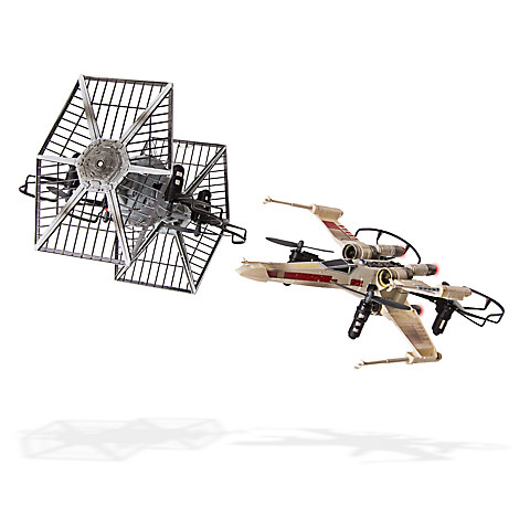 X-wing vs. TIE Fighter Drone Remote Control Battle Set - Star Wars