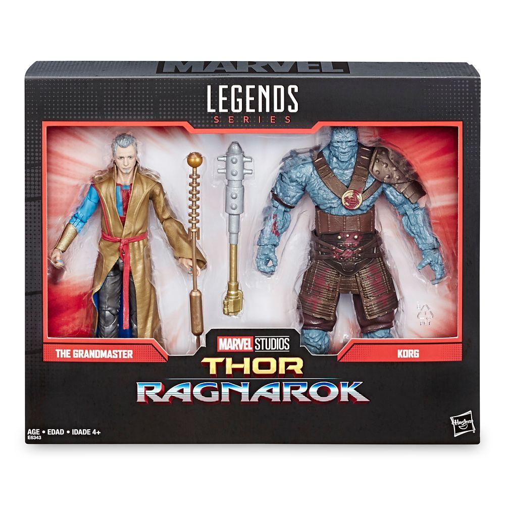 The Grandmaster and Korg Action Figure Set – Legends Series – Thor: Ragnarok