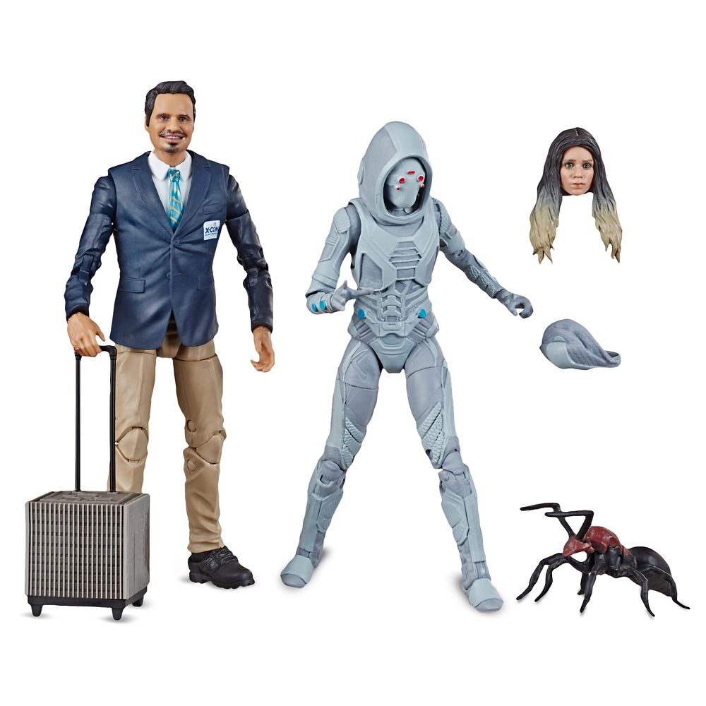 X-Con Luis and Ghost Action Figure Set – Ant-Man and The Wasp Legends Series