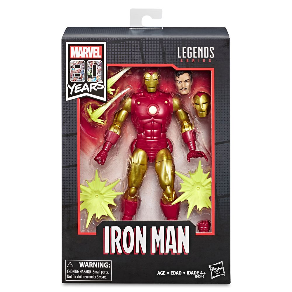Iron Man Action Figure – Legends Series – Marvel 80th Anniversary