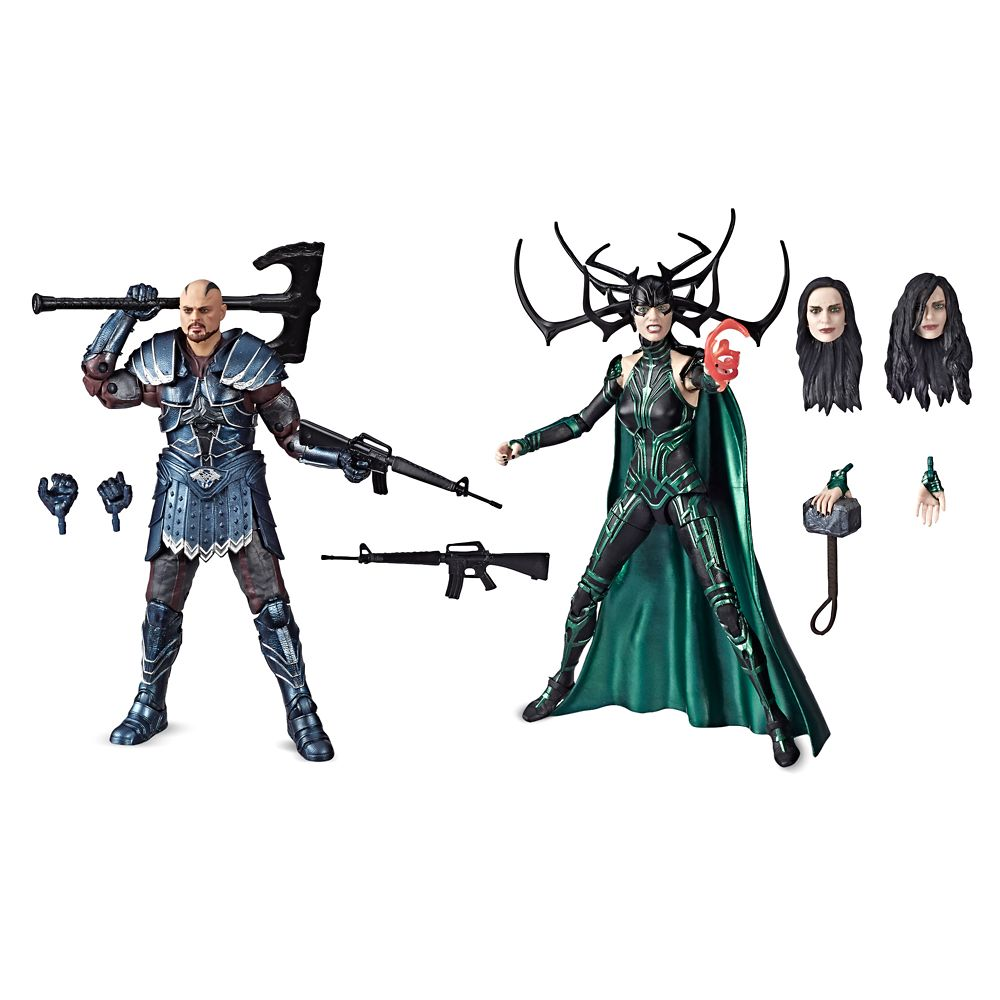 Skurge and Hela Action Figure Set – Legends Series – Thor: Ragnarok