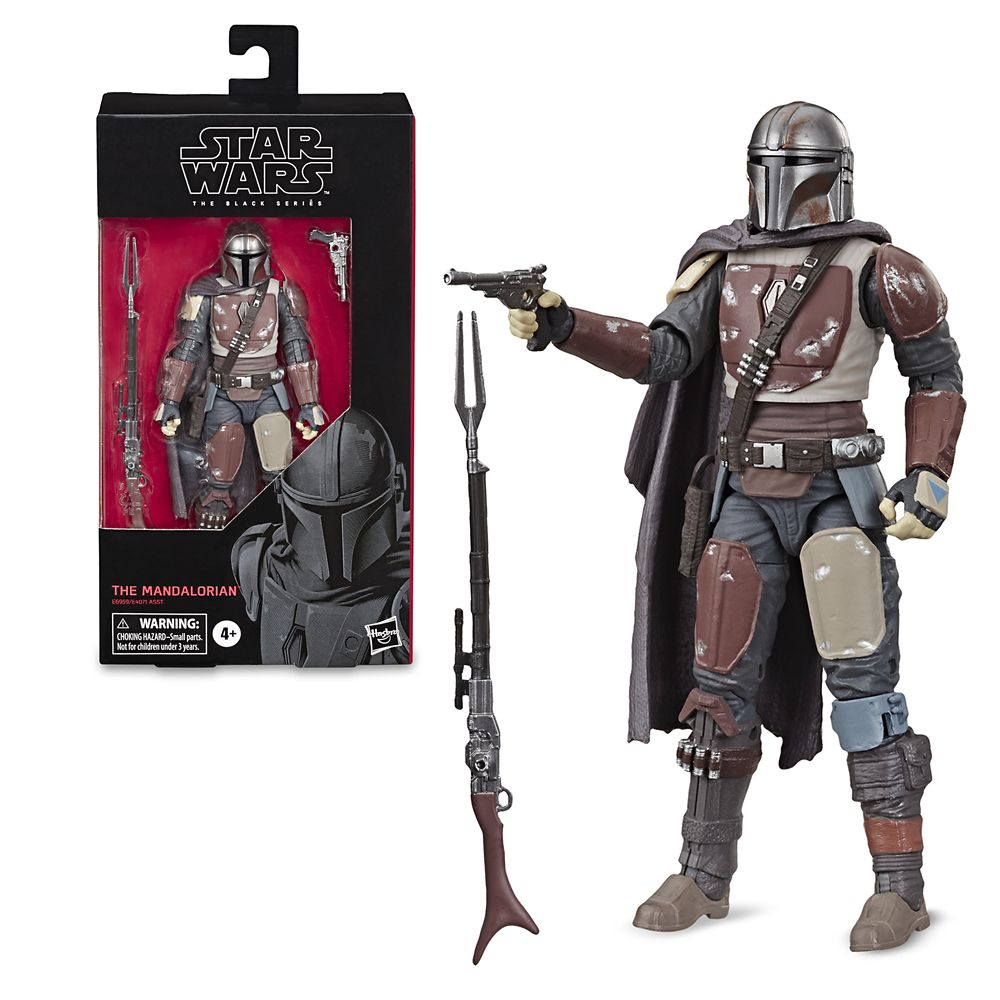 The Mandalorian Action Figure – Star Wars: The Mandalorian – The Black Series by Hasbro