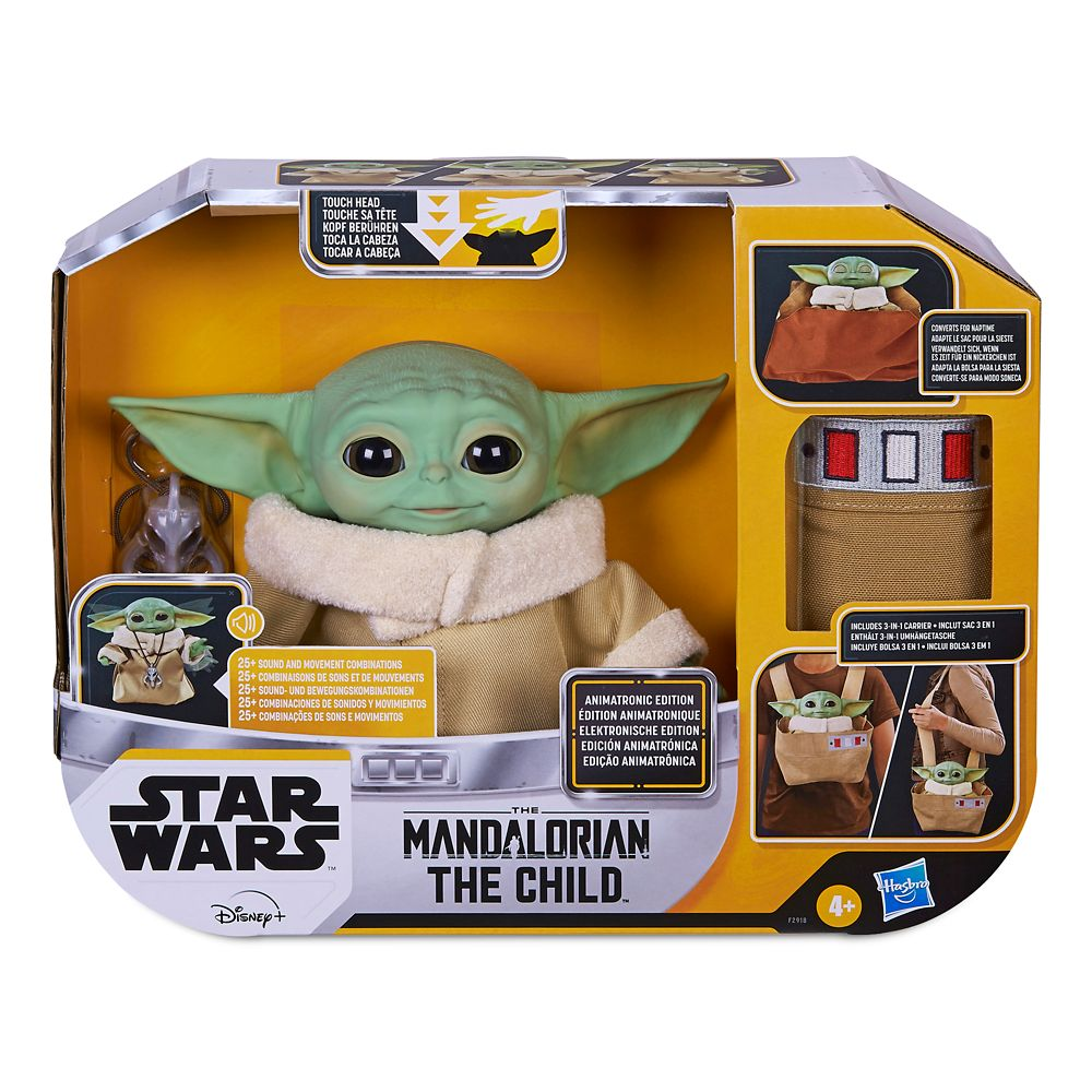 The Child Animatronic Toy with Carrier by Hasbro – Star Wars: The Mandalorian