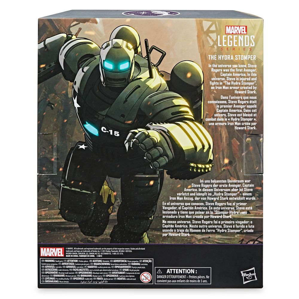 The Hydra Stomper Action Figure – Marvel What If . . . ? – Marvel Legends