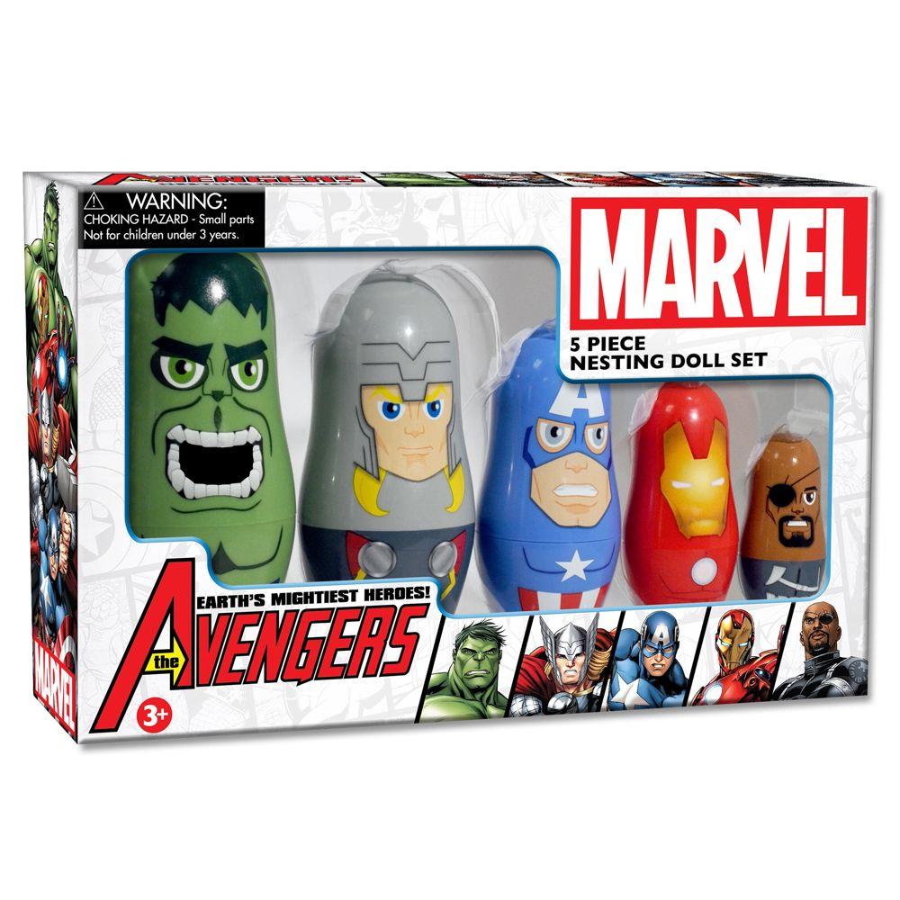 The Avengers Nesting Doll Set