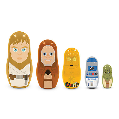 Star Wars Jedi and Droids Nesting Doll Set