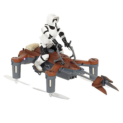 Star Wars 74-Z Speeder Bike Quadcopter by Propel