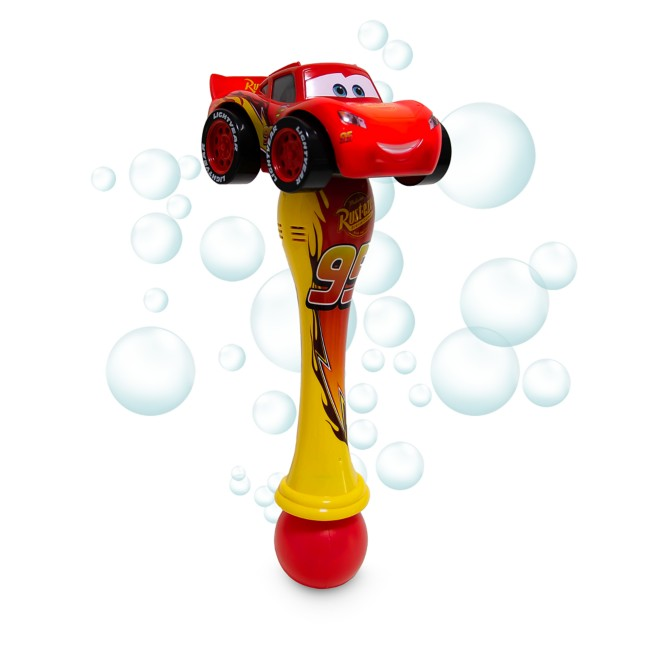 Lightning McQueen Light-Up Bubble Wand – Cars