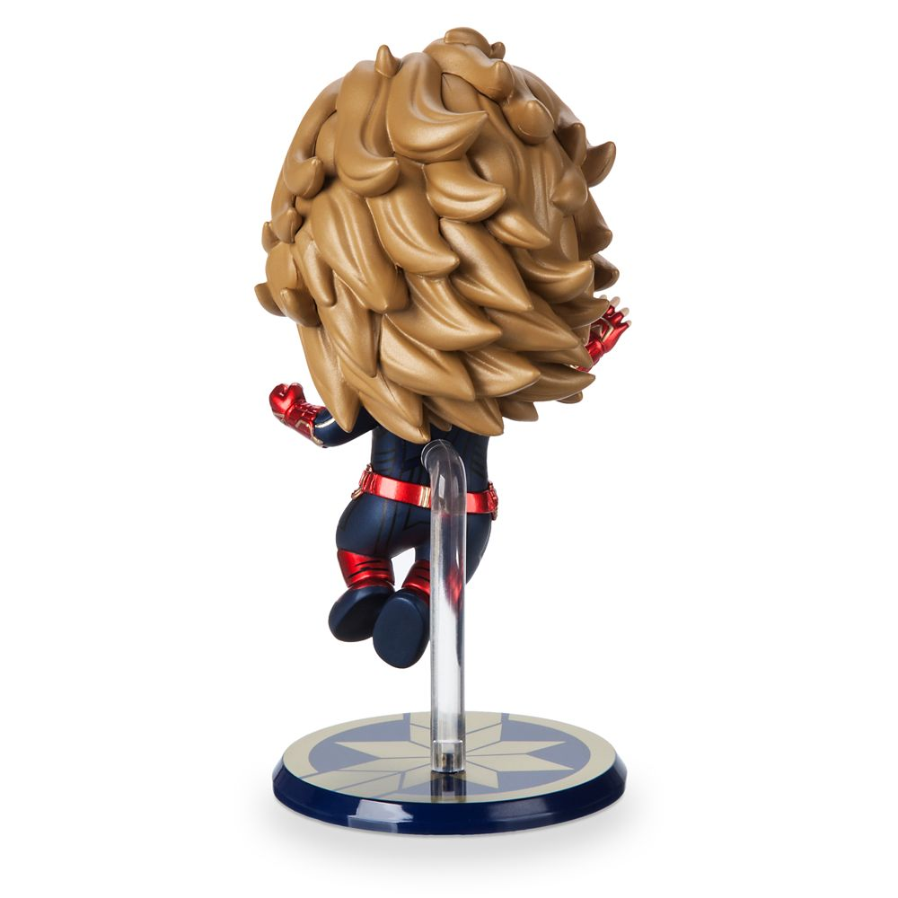 Marvel's Captain Marvel Cosbaby Bobble-Head Figure by Hot Toys – Flying Version