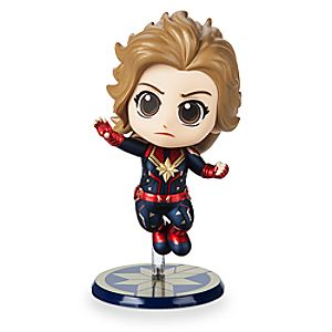 Marvel's Captain Marvel Cosbaby Bobble-Head Figure by