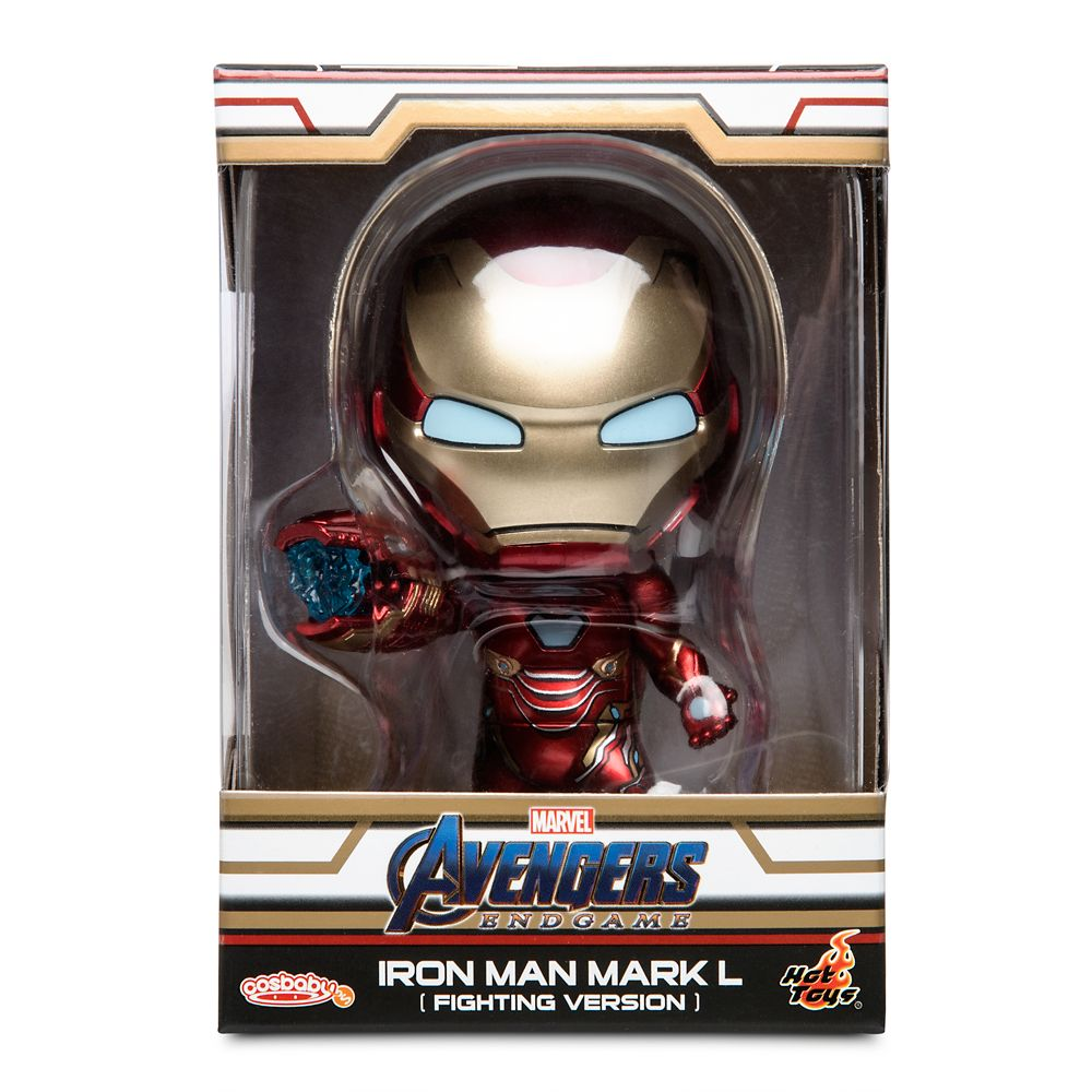 Iron Man Mark L Cosbaby Bobble-Head Figure by Hot Toys – Marvel's Avengers: Endgame