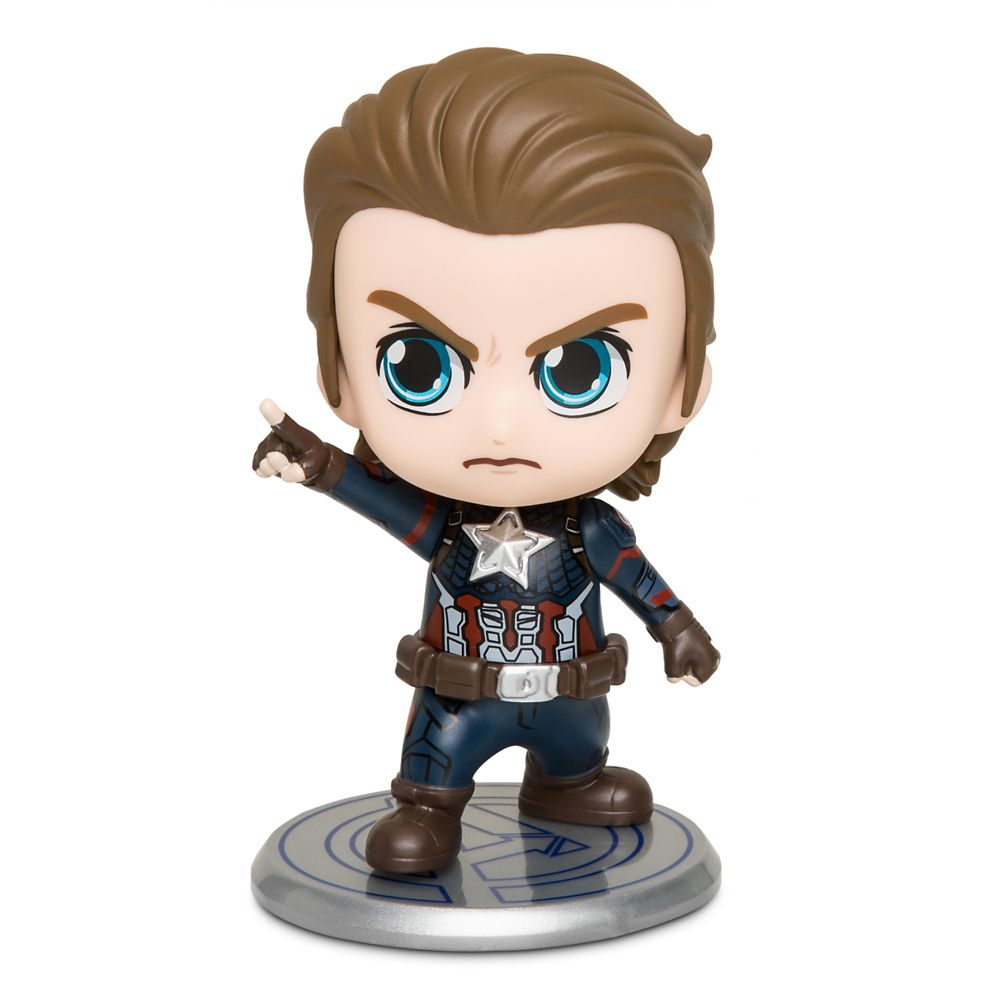 Captain America Cosbaby Bobble-Head Figure by Hot Toys – Marvel's Avengers: Endgame