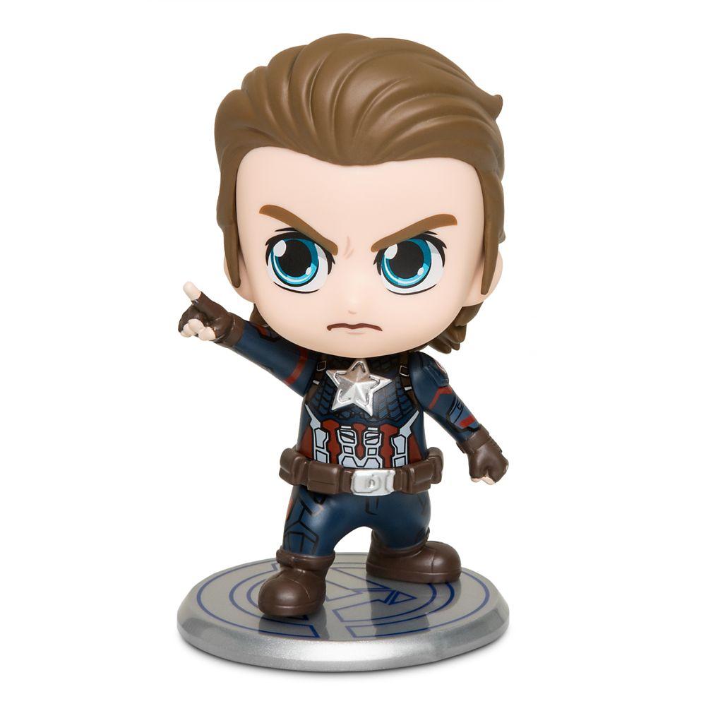 Captain America Cosbaby Bobble-Head Figure by Hot Toys – Marvel's Avengers: Endgame