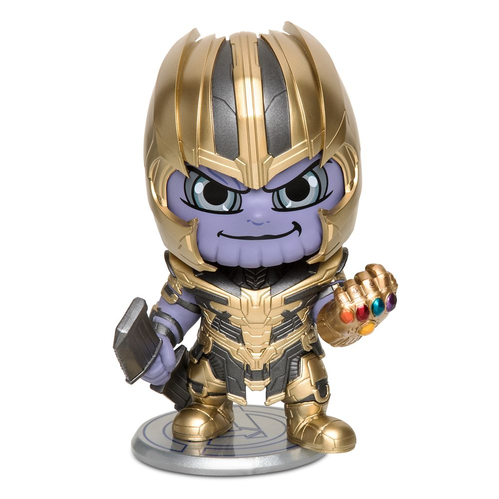 Thanos Cosbaby Bobble-Head Figure by Hot Toys – Marvel's Avengers: Endgame