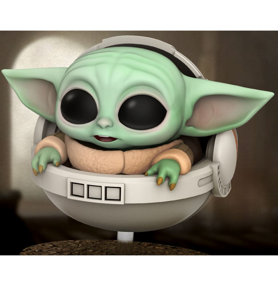 The Child With Hover Pram Cosbaby Bobble-Head Figure by Hot Toys – Star Wars: The Mandalorian