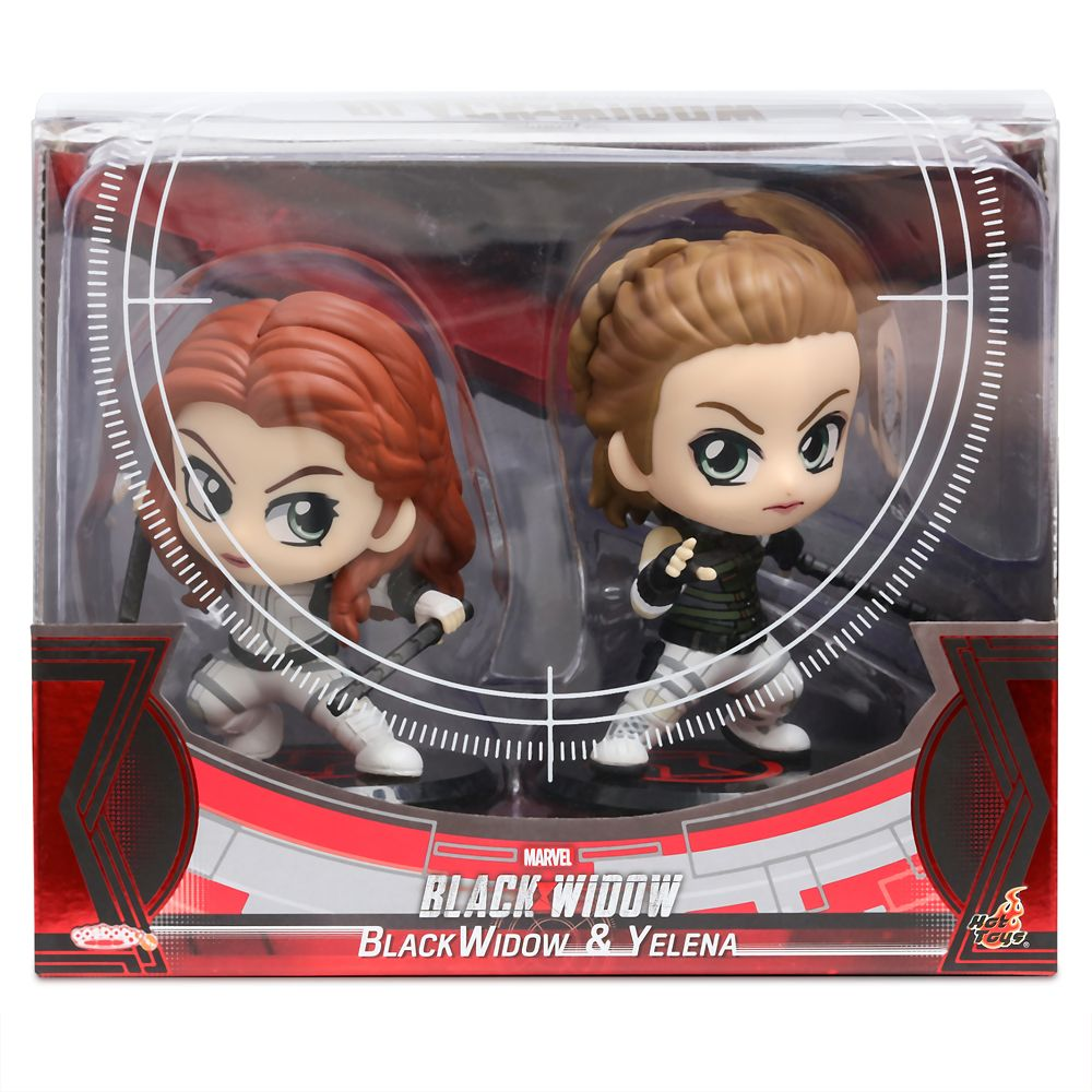 Black Widow and Yelena Cosbaby Bobble-Head Figure Set by Hot Toys – Marvel's Black Widow