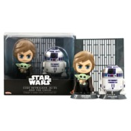 Luke Skywalker, R2-D2 and the Child Cosbaby Bobble-Head Set by Hot Toys – Star Wars: The Mandalorian – Pre-Order