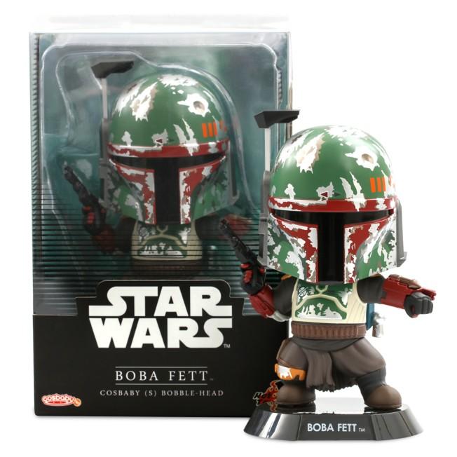 Boba Fett Cosbaby Bobble-Head by Hot Toys – Star Wars: The Mandalorian – Pre-Order