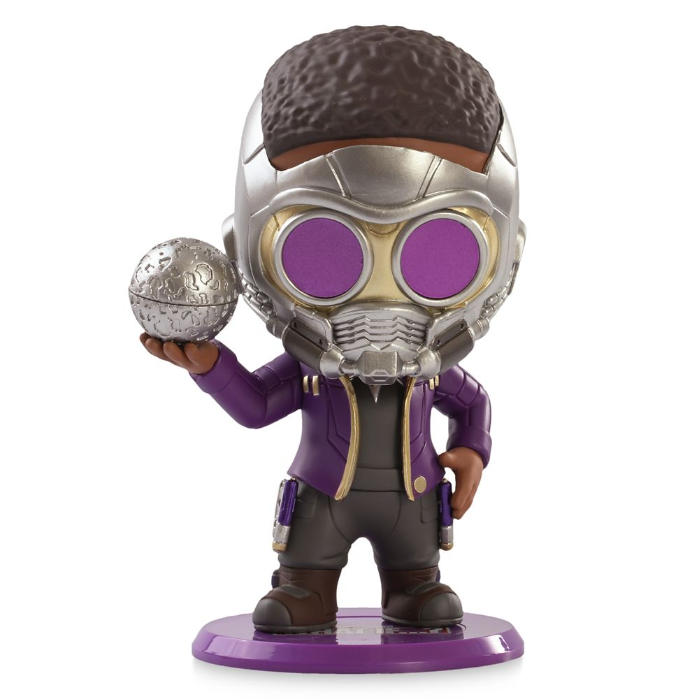 T'Challa Star-Lord Cosbaby Bobble-Head by Hot Toys – Marvel What If...? – Pre-Order