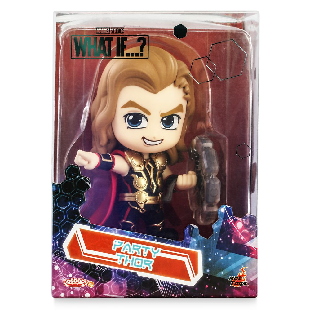 Party Thor Cosbaby Bobble-Head by Hot Toys – Marvel What If...? – Pre-Order