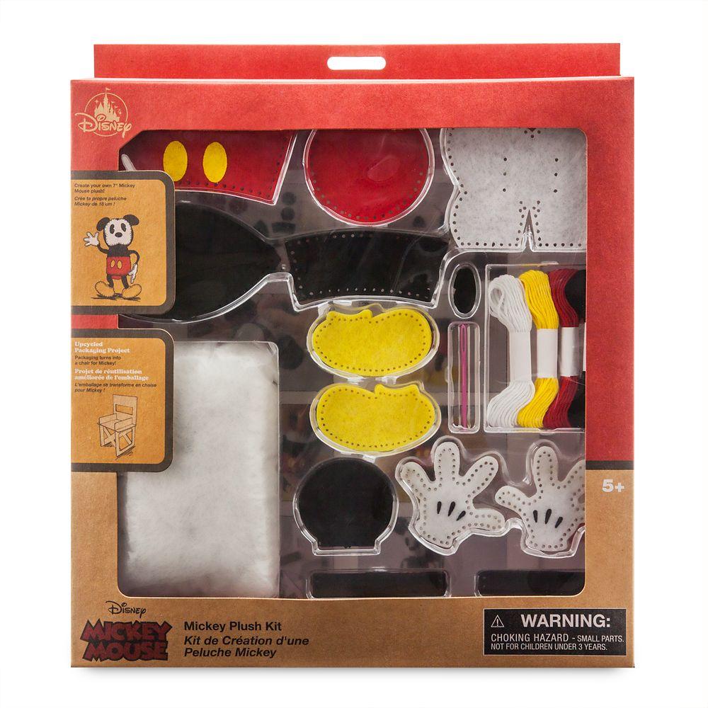 Mickey Mouse Plush Kit