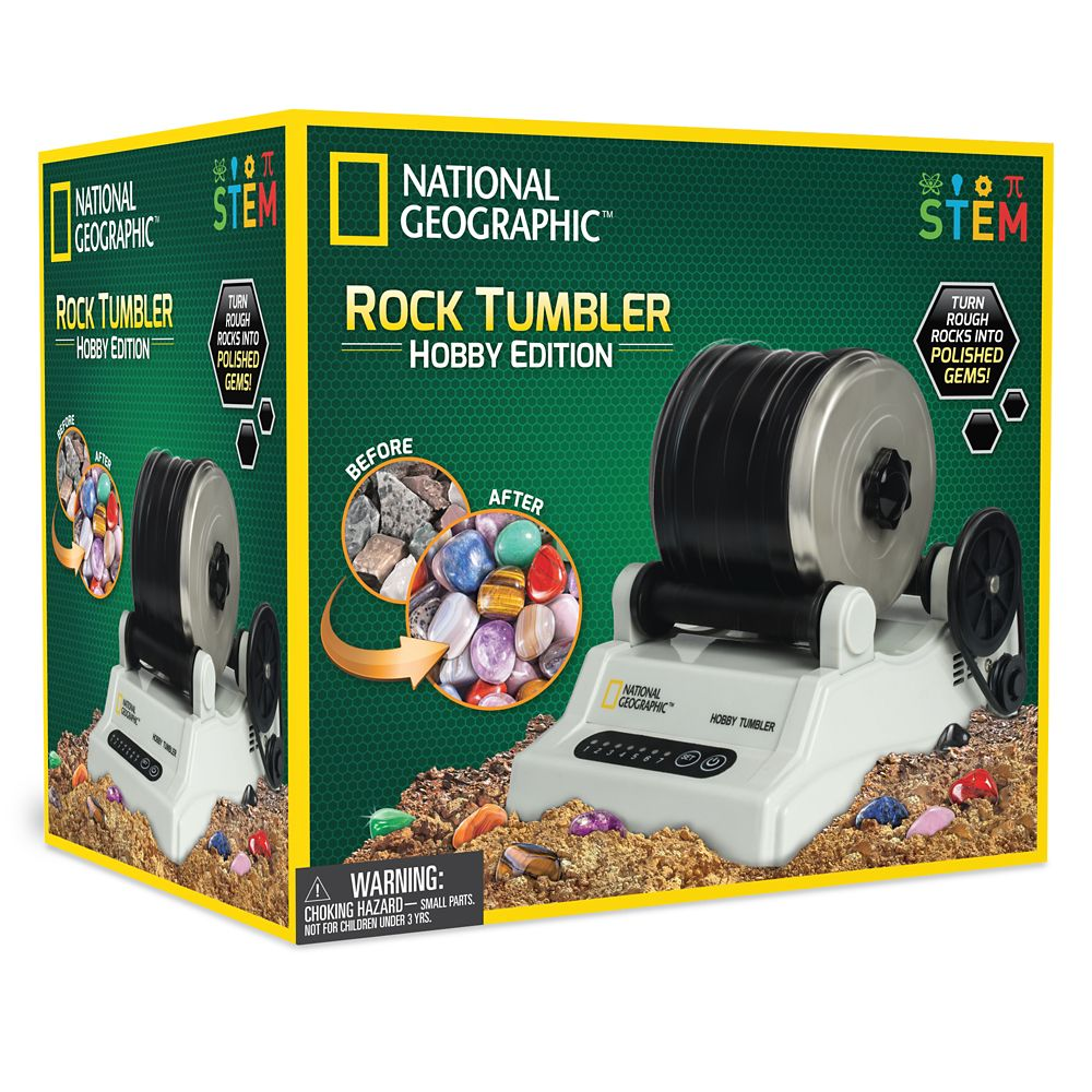 Hobby Rock Tumbler – National Geographic