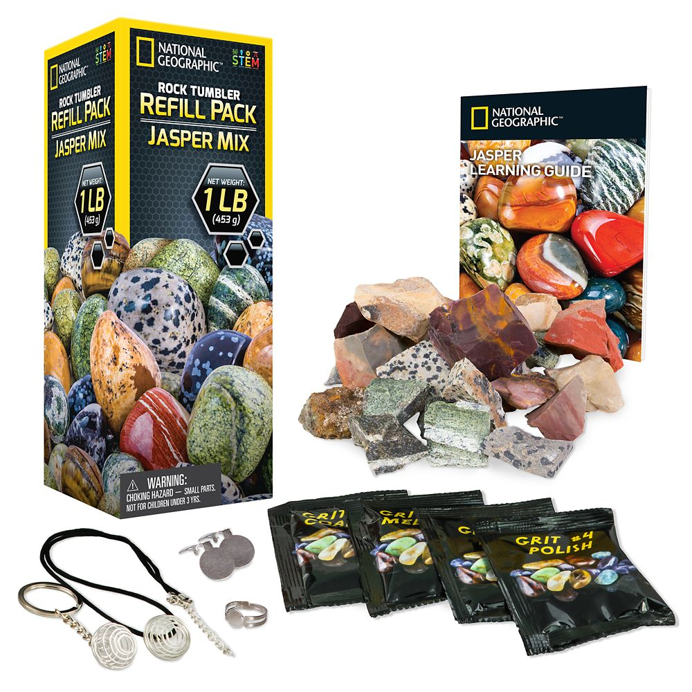 Rock Tumbler Refill Pack – Gemstones – National Geographic