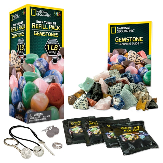 Rock Tumbler Refill Pack – Jasper – National Geographic