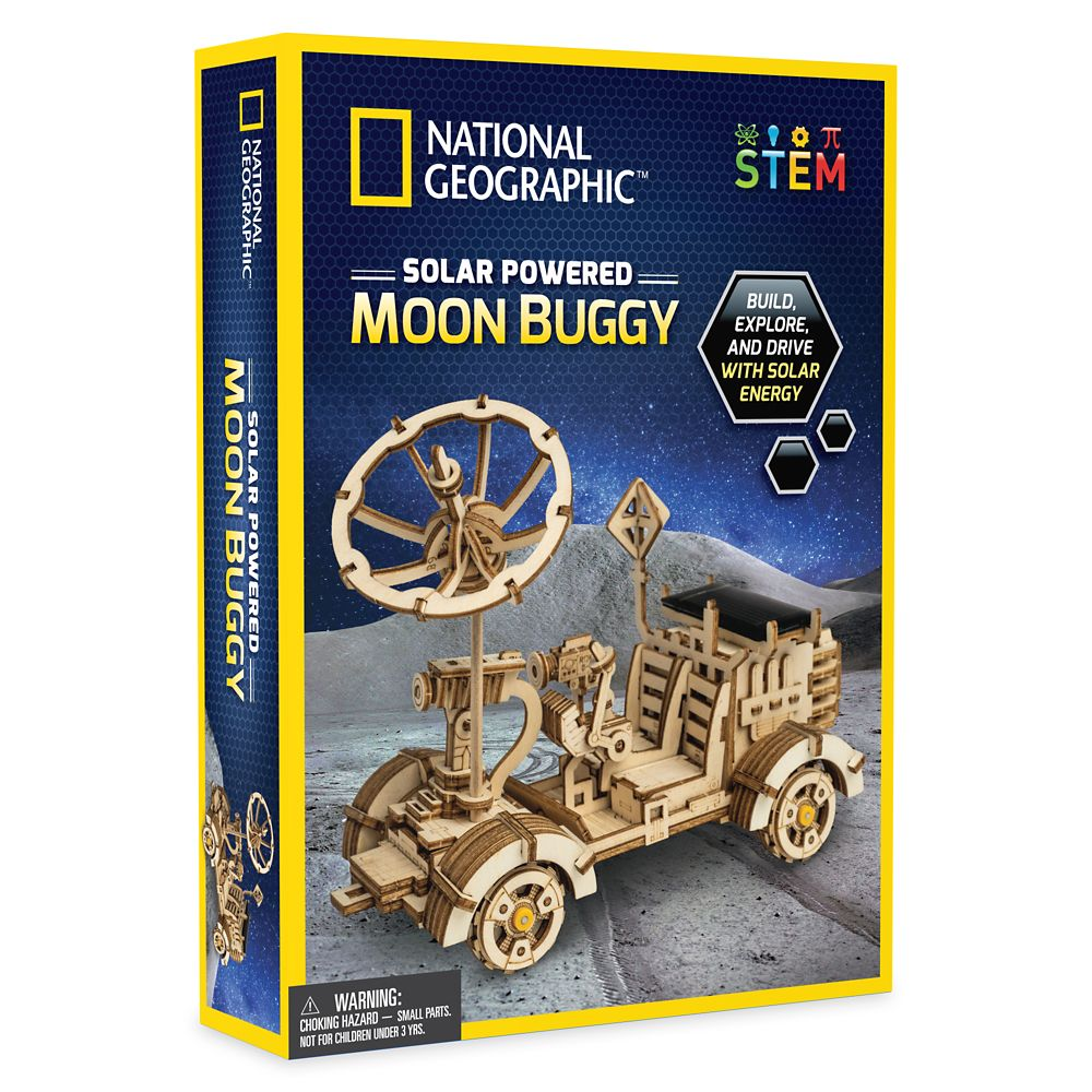 Solar Powered Moon Buggy – National Geographic