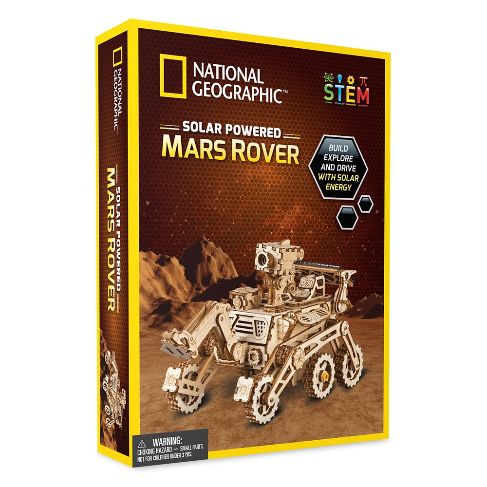 Solar Powered Mars Rover – National Geographic