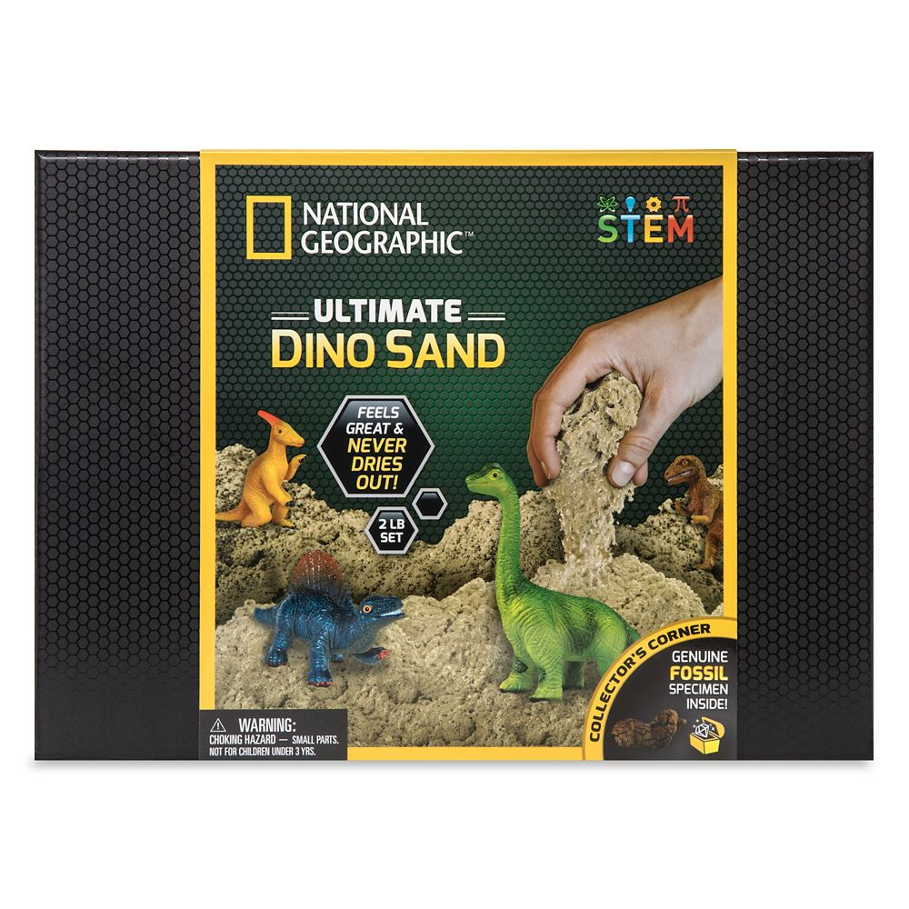 Ultimate Dino Sand Play Set – National Geographic