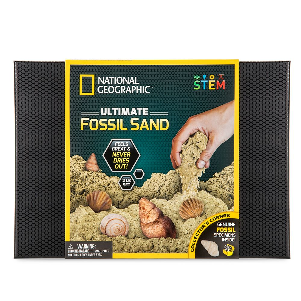 Ultimate Fossil Sand Play Set – National Geographic