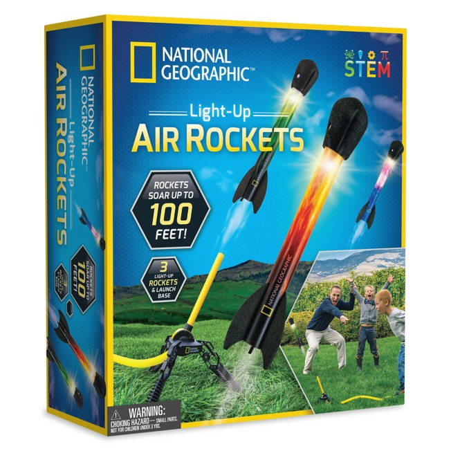Light-Up Air Rockets Set – National Geographic