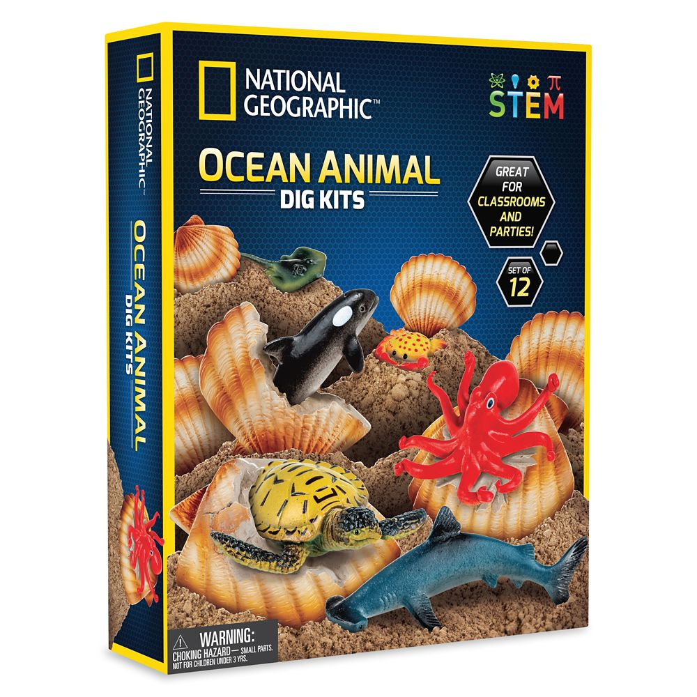 Ocean Animal Dig Kits – National Geographic