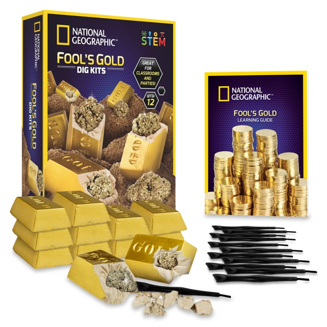 Fool's Gold Dig Kits – National Geographic