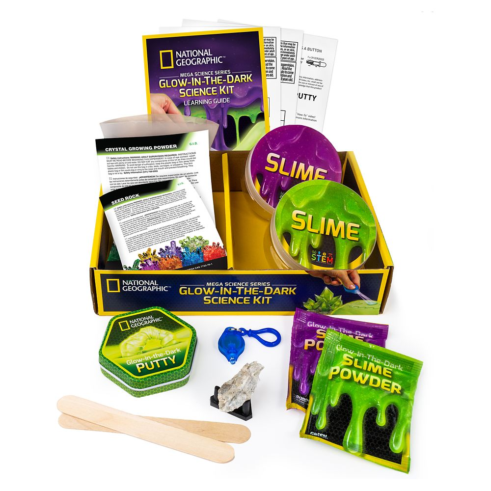 Glow-in-the-Dark Science Kit – National Geographic