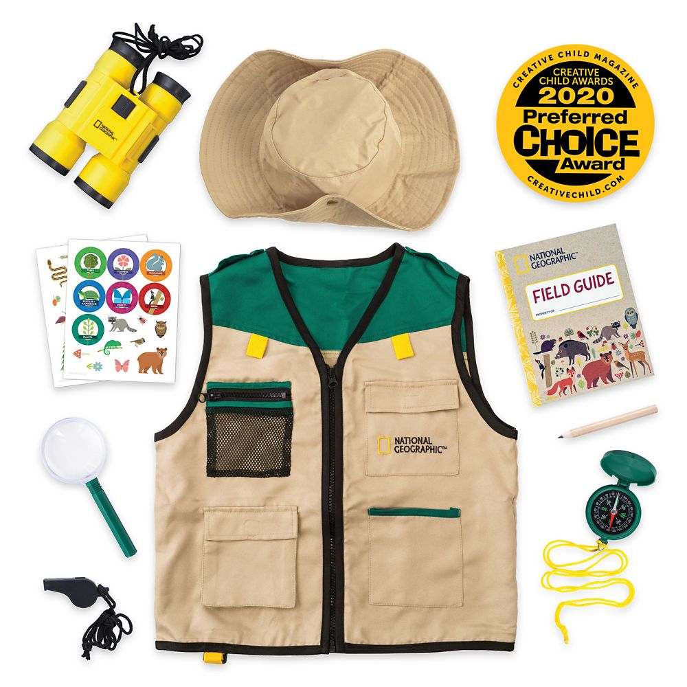 Safari Vest Kit for Kids – National Geographic