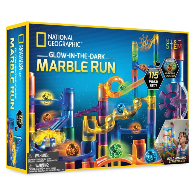 Glow-in-the-Dark Marble Run – National Geographic