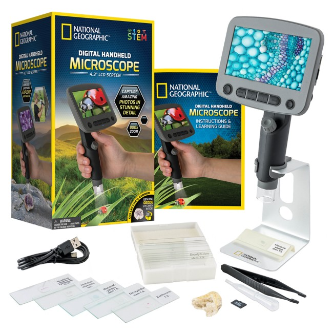 Digital Handheld Microscope – National Geographic