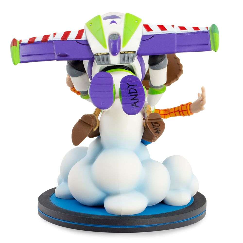 Woody and Buzz Lightyear Q-Fig Max by QMx – Toy Story 25th Anniversary