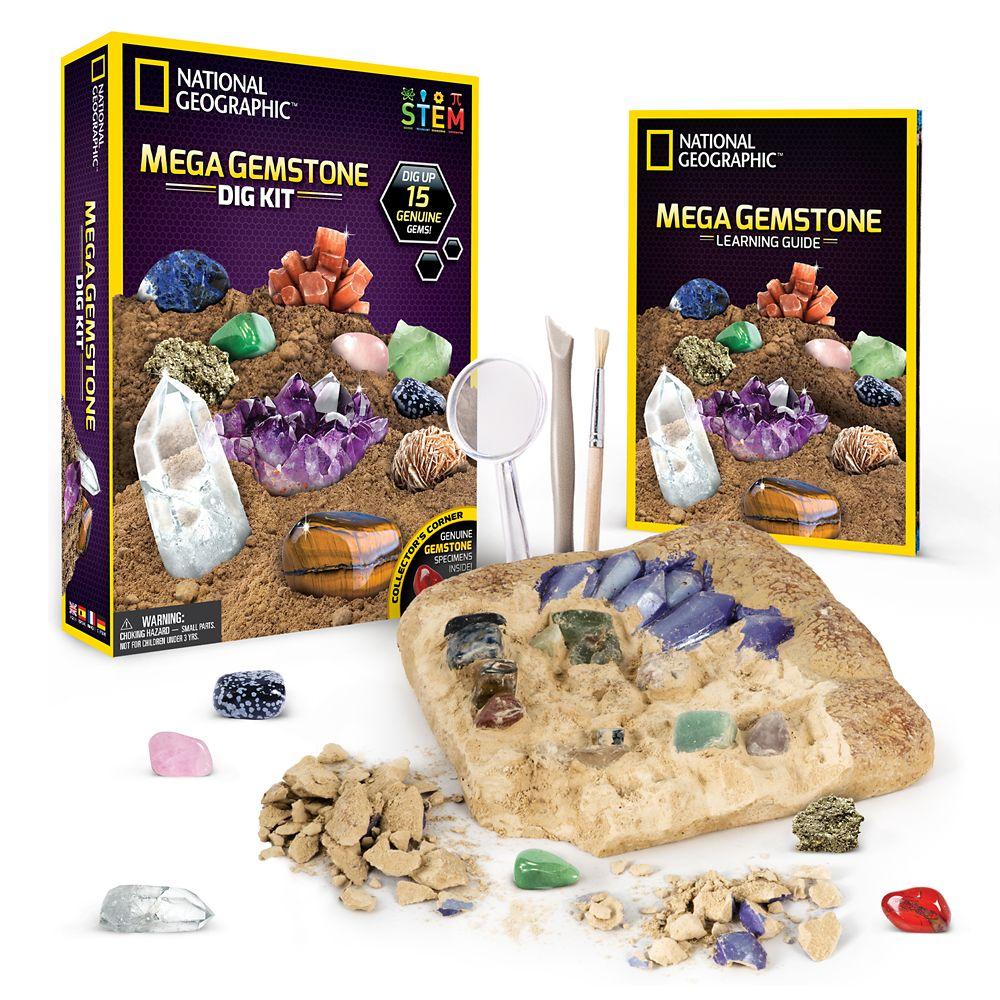 Mega Gemstone Dig Kit – National Geographic