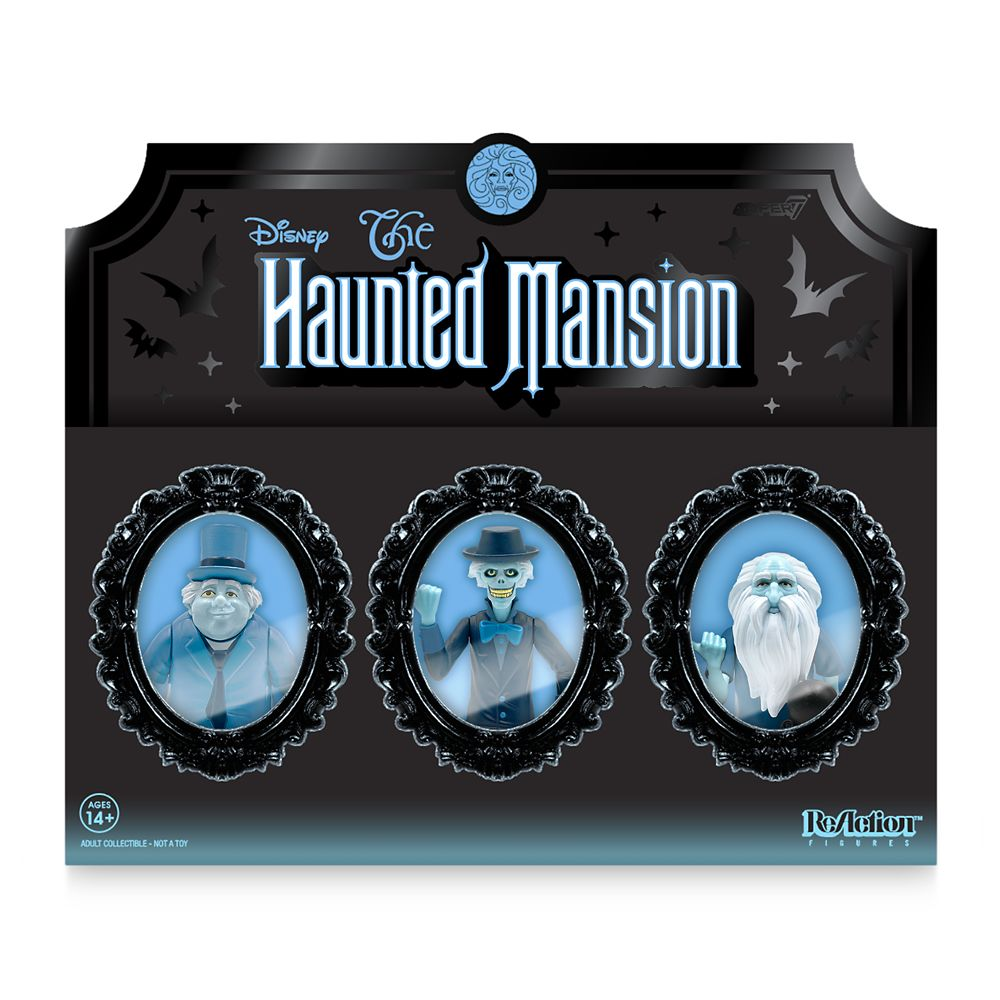 Hitchhiking Ghosts Collector Set by Super7 – The Haunted Mansion