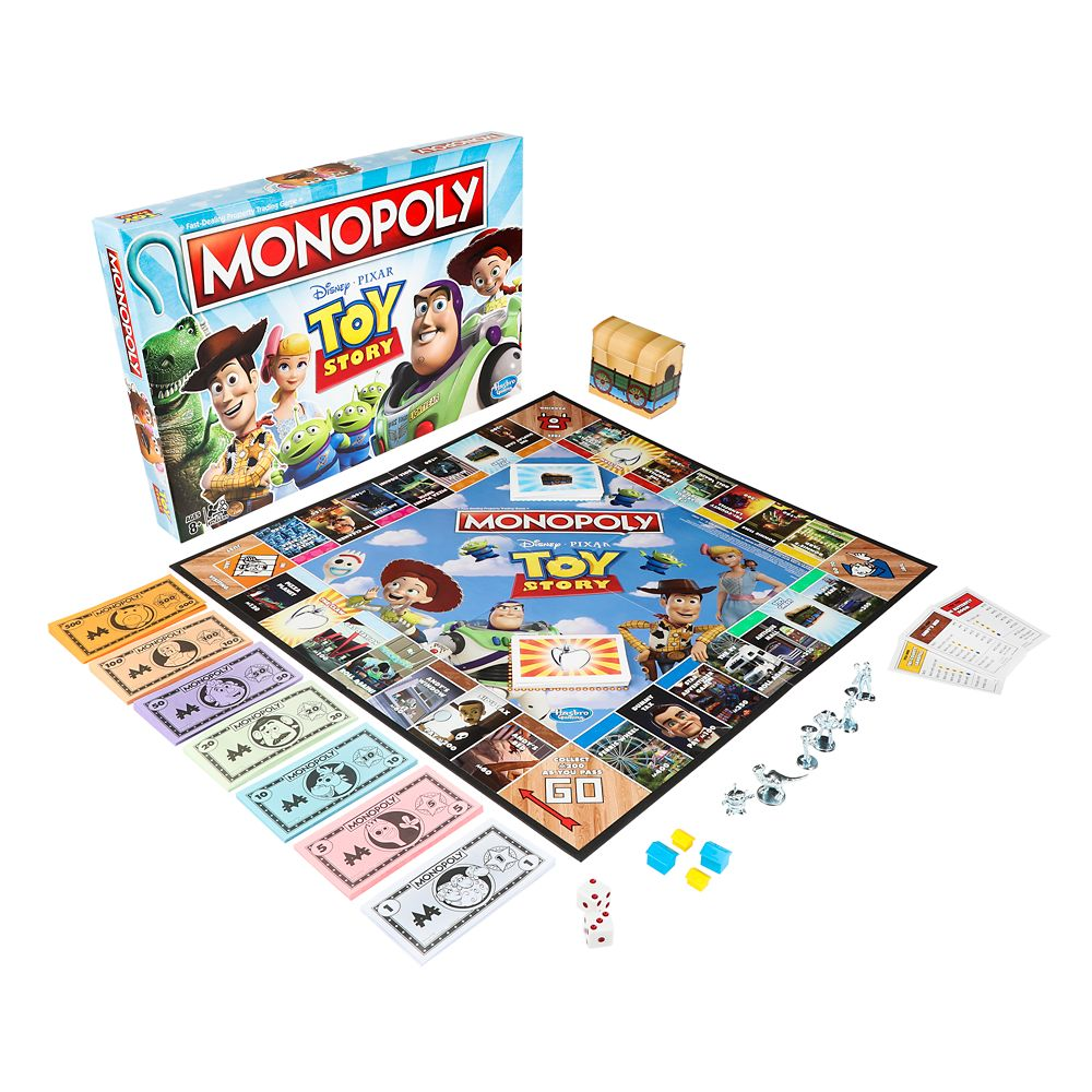Toy Story Edition Monopoly Game Official shopDisney