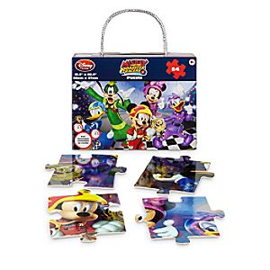 Disney Store Mickey And The Roadster Racers Puzzle