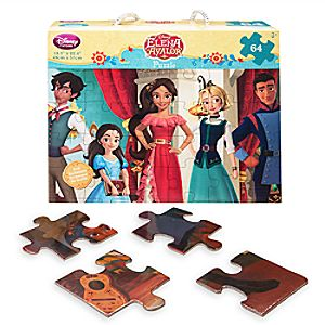 Disney Store Elena Of Avalor Character Puzzle