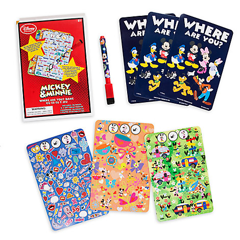 Mickey & Minnie Where Are You? Game