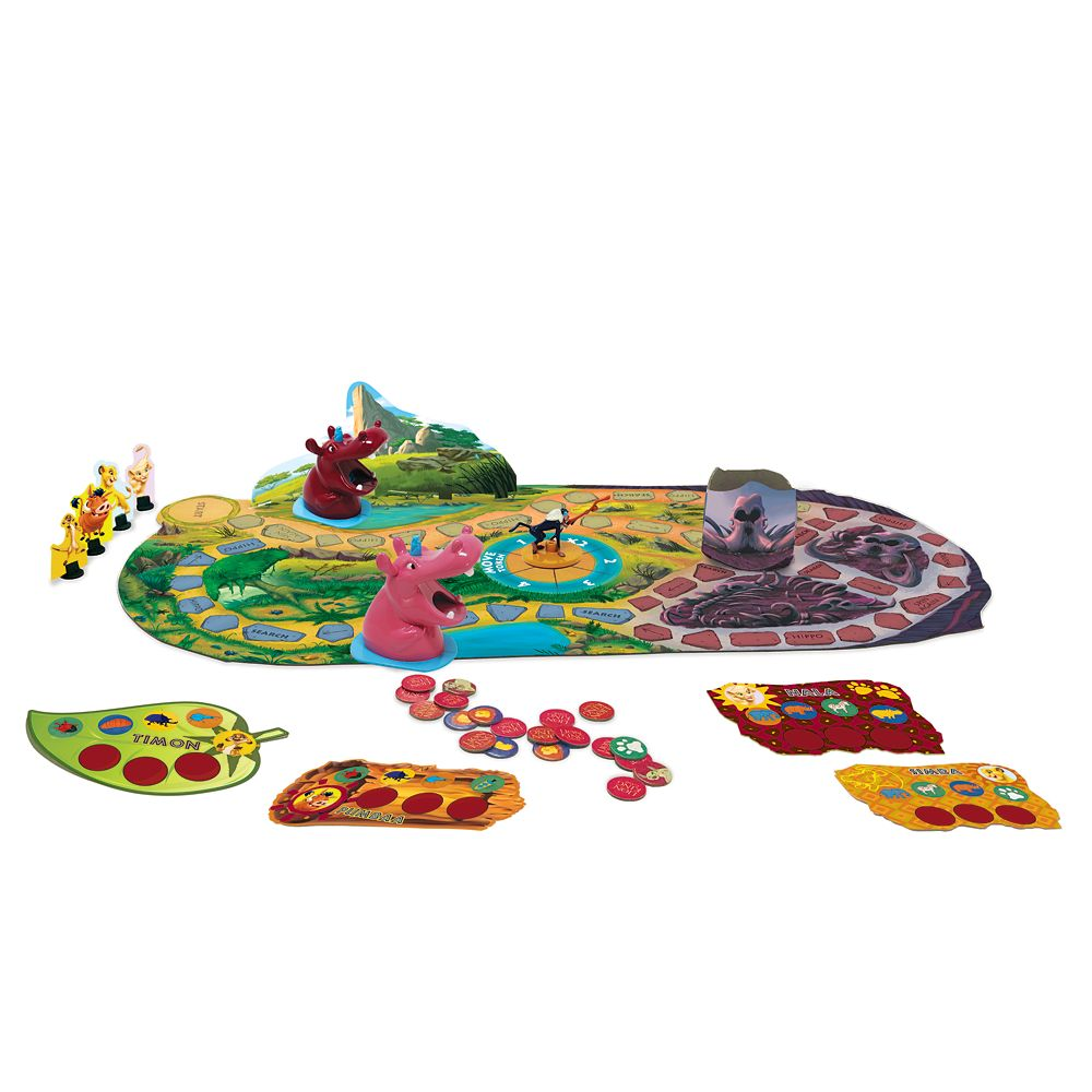 The Lion King Classic Board Game by Milton Bradley Official shopDisney